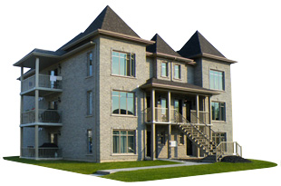 plan bloc appartement